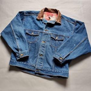Marlboro | Vintage Jean Jacket Country Store Brown
